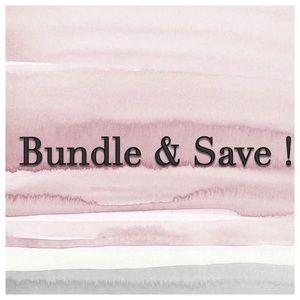Bundle & save more !!